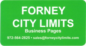 Forney City Limits